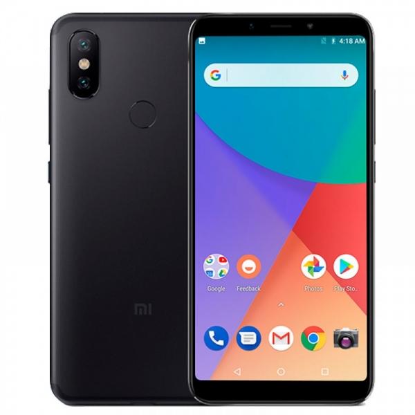 Смартфон Xiaomi Mi A2 4/32GB black (EU)