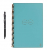 Интеллектуальный блокнот Rocketbook Core Executive Dotted Grid Neptune Teal A5 (EVR-E-RC-CCE-FR)