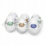 Tenga Мастурбатор-яйцо Variety Pack EGG-II Hard Boiled (EGG-VP6-2)