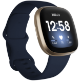 Умные часы Fitbit Versa 3 Midnight/Soft Gold Aluminum FB511GLNV