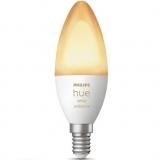 Умная лампа Philips Hue White Ambiance Bluetooth E14 6Вт 6500K 1шт (929002294401)